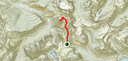 Haystack Butte Trail Map