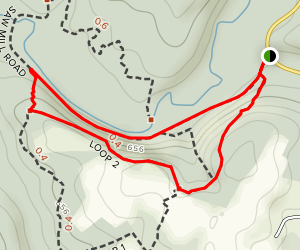 Saw Mill Road West to Loop 2 Map