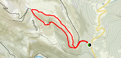Hoosier Pass Loop Map