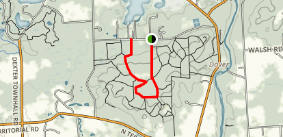 Peach Mountain Observatory Trail Map