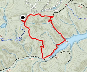 Ring The Peak and Limber Pines Trail Map