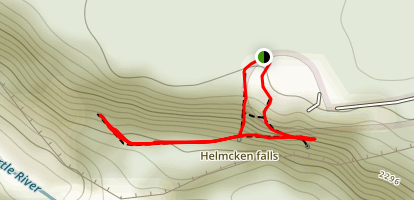 Helmcken Falls Map