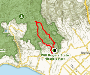 Backbone Trail and River Canyon Loop Map
