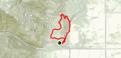 Larry Creek Ecology Loop Map
