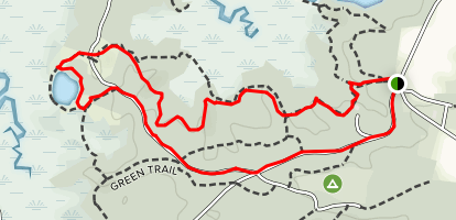 Blue Trail Map