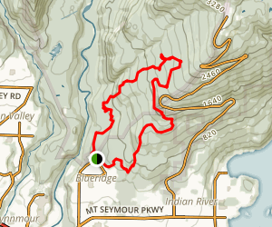 Mount Seymour Outer Loop Map