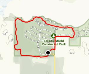 Tanager Trail Map