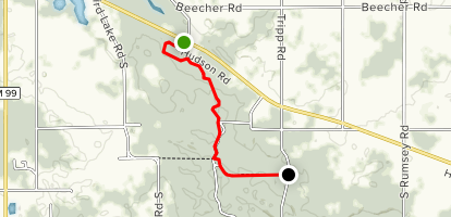 North County Trail: M34 to Tripp Road Map