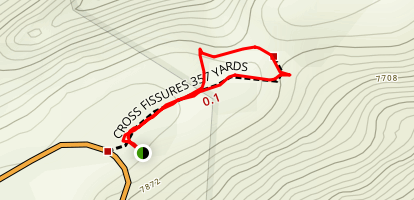 Cross Fissures Trail Map