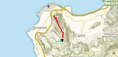 Monte Pecoraro Map