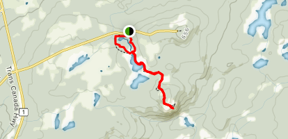 Ochre Hill Trail Map