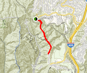 Canyonback Trail Map
