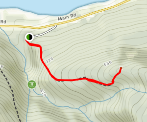 Copper Mine Falls Trail Map