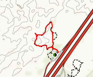 Hell's Half Acre Loop: Southbound Map