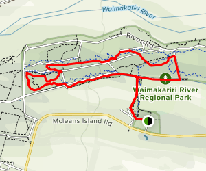 McLeans Forest Walking Track Map