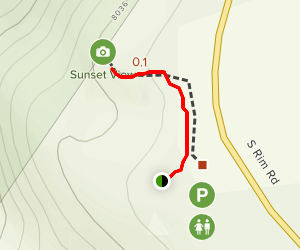 Sunset View Trail Map