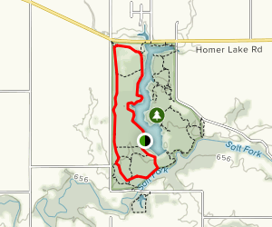 West Lake Trail  Map