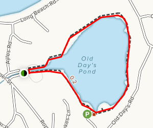 Old Day's Pond Boardwalk Map