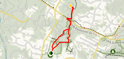 Valley and Spring Hill & Mclean Hunt Park Trail  Map
