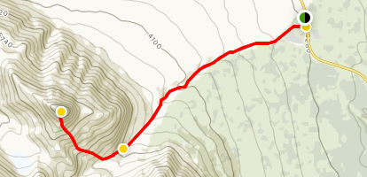 Mount Decoeli Map