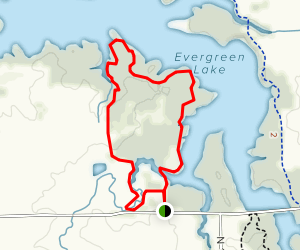 Whitetail Slough Access Trail Map