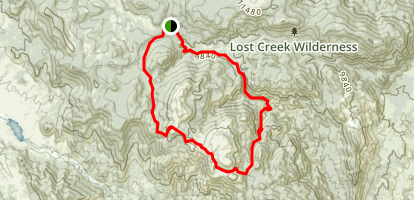 Wigwam, McCurdy and Brookside McCurdy Trail  Map