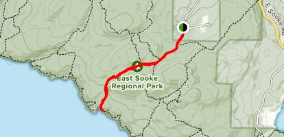 Parkheights Trail Map