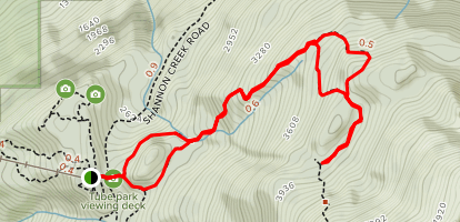 Al Habrich's Ridge Trail Map