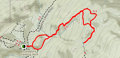 Al's Habrich Ridge Trail Map