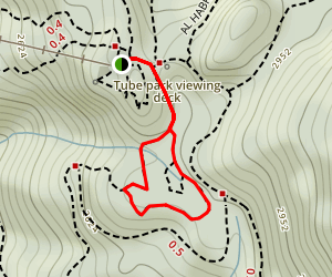 Wonderland Lake Loop Map