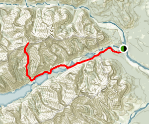 Mount Costigan via Minnewanka Trail Map
