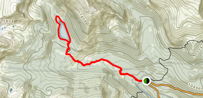 Timberline Lake Trail Map