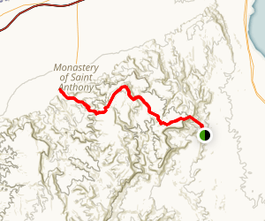 St Antoine and St Paul Trail  Map