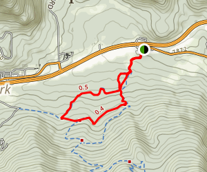 Lodgepole Loop Trail Map