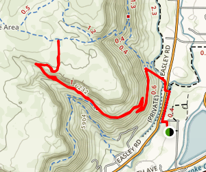 Cottonwood Canyon Trail via Fairmont Canal Trail Map