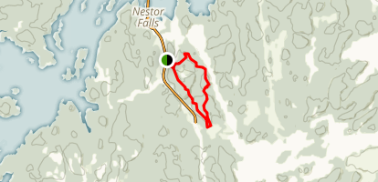 Boreal Trail Map