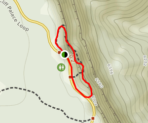 Balcony House Loop Trail Map