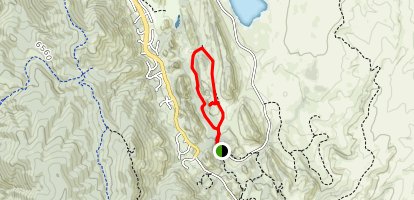 Fountain Valley Loop Trail Map