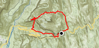 Spry Canyon  Map