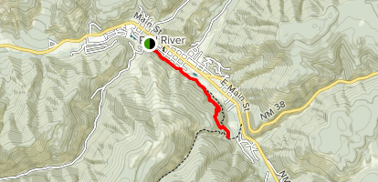 Red River Nature Trail Map