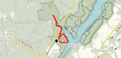 Sterner Mill and Old High Bridge Trail Map