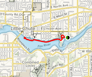 Heritage Parkway Trail Map