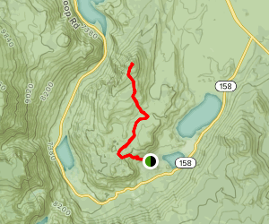 Reversed Peak Trail Map
