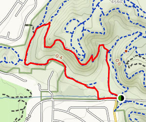 Palmer Point and Templeton Trail Map