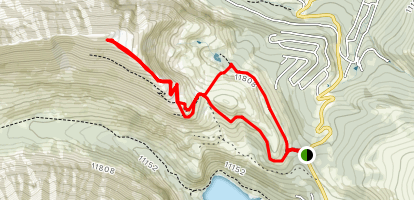 North Star Mountain Summit  Map