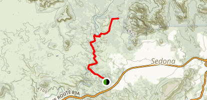 Girdner Trail  Map