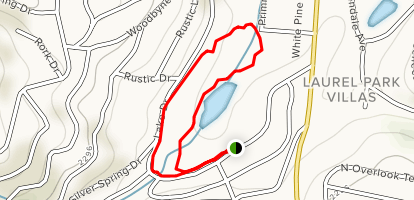 Rhododendron Lake Loop Map