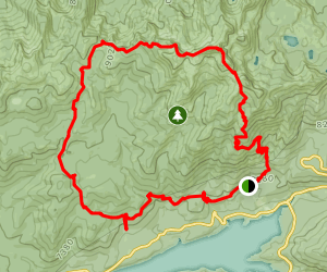 Kaiser Loop Trail Map