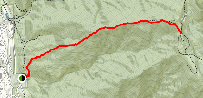 Wolverine Ridge Trail Map