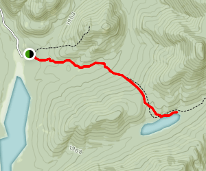 Kings Flow to Puffer Pond Trail Map